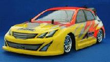 RIDE Subaru Impreza WRX STI Mini Body (225mm) for Tamiya M-03M & M-05M
