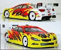 RIDE 1/10 Subaru Legacy B4 GT300 Body (Regular Weight)