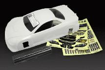 RIDE Subaru Impreza WRX STI 4 Door Touring Car Body (White) (Light Weight)