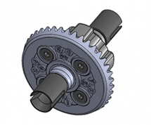 39T Metal Gear Differential for D5S