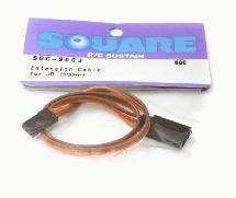 Square R/C Extension Cable (Small Servos) for Sanwa/JR (300mm)