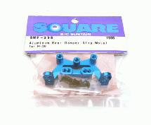 Square R/C Aluminum Rear Damper Stay Mount (for Tamiya M-06) Blue