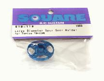 Square R/C Large Diameter Spur Gear Holder (for Tamiya TB-03)
