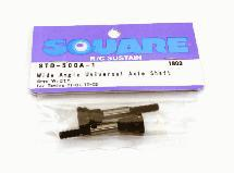 Square R/C Wide-Angle Universal Axle Shaft, 4mm Width for Tamiya TT-01
