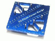 3Racing Pinion & Camber Gauge - Blue