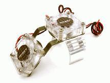 Motor Heatsink + Twin Cooling Fan for HPI 1/10 Blitz