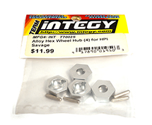 14mm Hex Wheel Hub (4) for Savage-X, 21 & 25