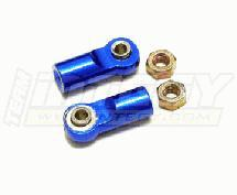 Alloy Ball End (2) 3mm Mounting Hole w/ M4 Thread (2) for Jato Shocks MSR6