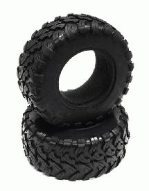 Replacement Tire (2) T8550 T8556 Type Wheels for 1/10 Slash 2WD,4X4 (O.D.=105mm)