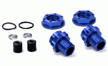 Billet Machined Wheel 17mm Hex Rear Adapter (2) +3mm Offset for Traxxas Jato