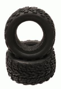 Replacement Tire(2) for T8141, T8149 Type Wheel on Jato, Stampede 2WD (OD=115mm)