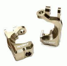 Billet Machined T2 Caster Blocks for 1/10 Stampede 4X4, Slash 4X4 & Rustler 4X4