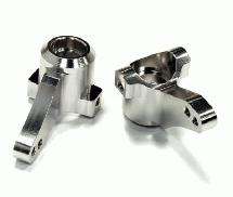 Billet Machined Steering Knuckles (2)  for HPI 1/10 Bullet MT & Bullet ST