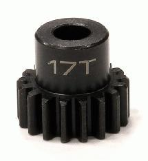 Billet Machined 32 Pitch Steel Pinion 17T for Brushless Applications w/5mm Shaft