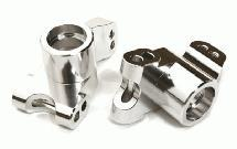 Billet Machined Rear Hub Carriers for HPI 1/10 Jumpshot MT, SC & ST
