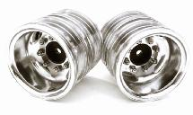 Machined Alloy T7 Rear Dually Wheel Set for Tamiya 1/14 Scale Tractor Trucks