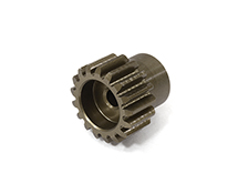 Billet Machined 32 Pitch Pinion Gear 17T, 3.17mm Bore/Shaft for Brushless R/C