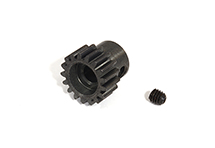 Billet Machined 0.8 Steel 32 Pitch Pinion 17T for BL Applications w/ 5mm Shaft