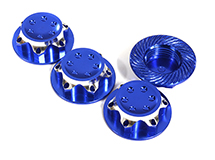 Billet Machined 17mm Hex Wheel Nuts for Most 1/8 Buggy, Truggy, SC & Mon. Truck